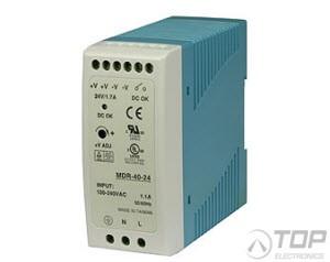 WuT 11085, DIN rail power supply 24V, 1.7A
