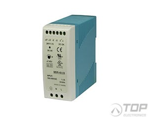 WuT 11086, DIN rail power supply 12V, 5.0A