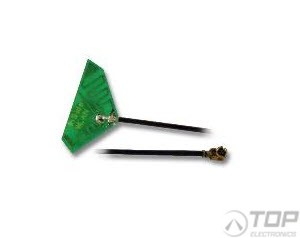 ProAnt 299, Inside Antenna, 2.4/5.8GHz, triangular, 10cm U.Fl cable