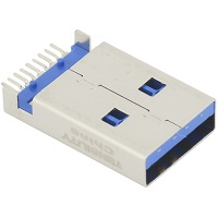 Tensility 50-00469, Connector, USB A 3.0 plug, molding style