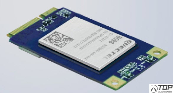 Quectel BG96-GG, LTE Cat.M1/NB1 and EGPRS Mini PCIe Module with embedded GNSS