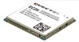 Quectel EC25-A, Multi-mode LTE Module, Cat.4 (ATT Network)