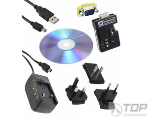 LM048-0006, Bluetooth® v2.0, v2.1 RS232 Serial Adapter, Single Retail Pack (SRP)
