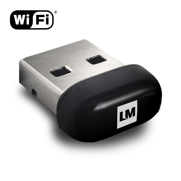 LM816-0648-3US, WiFi USB Nano Adapter, 150Mbps, Adapter only