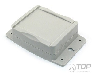 PacTec OD43 Kit, Plastic Wall-mount Enclosure, Grey, IP65