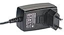 WuT 11025, AC adapter 24V/18W/750mA, EU plug