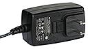 WuT 11027, AC adapter 24V/18W/750mA, US plug