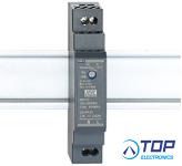 WuT 11080, Power Supply 24V/15W for DIN rail mount