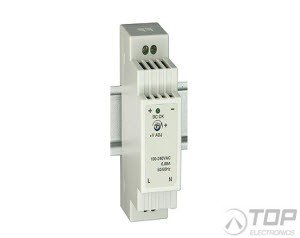 WuT 11082, DIN rail power supply 24V, 0.63A