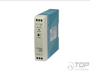 WuT 11084, DIN rail power supply 24V, 1.0A