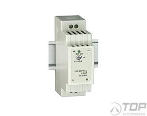 WuT 11087, DIN rail power supply 12V, 1.25A