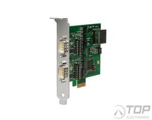 WuT 13431, PCI Express Card 2x20mA, 1kV isolated
