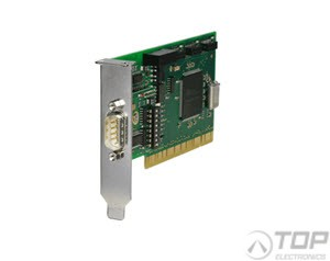 WuT 13610, Low Profile PCI Card 1x RS232/RS422/RS485, 1kV isolated