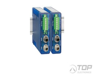 WuT 17633, Fiber Optic, Digital-IO Extender Set,2x2