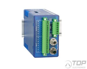 WuT 17634, Fiber Optic, Digital-IO Extender Set, 8x8