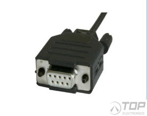 W&T 81009, Fiber Optic Interface to RS232, 9 pin/PC