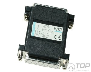 WuT 84001, Serial Interface, RS232<>20mA interface, compact