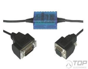 WuT 84004, Serial Interface, RS232<>20mA S5 Interface Cable, 4 kV isolated