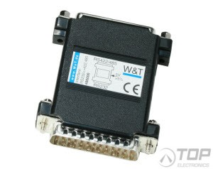 WuT 86000, Serial Interface, RS232/RS422/RS485