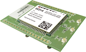 Quectel EC21-V-TE-A, adapter board including EC21-V module (Verizon network)