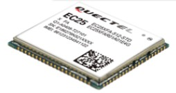 Quectel EC25-A, Multi-mode LTE Module, Cat.4 (ATT Network)