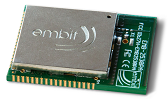 embit EMB-Z2530PA/IA, 2.4 GHz ZigBee-ready and 802.15.4-ready module with integrated antenna
