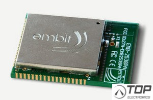 embit EMB-Z2538PA/IA, 2.4 GHz ZigBee-ready and 802.15.4-ready module with integrated antenna