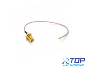 ERF5007, Cable, 20cm, SMA RP Female to u.FL connector