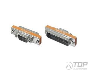 LM025, DB25 to DB9 Slimline Converter