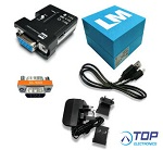 LM048-3006 Bluetooth® v2.0, v2.1 RS232 Serial Adapter in Retail Packing (SRP)