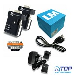 LM048-3012 Bluetooth® v2.0, v2.1 RS232 Serial Adapter, Twin Retail Packing (TRP)