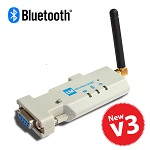 LM058-3050 Bluetooth RS232 Adapter with SMA Antenna