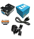 LM068-1101 Bluetooth® 5.0 Dual Mode RS232 Serial Adapter, retail pack (SRP)