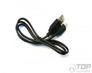 LM161, Cable, USB to mini-USB, 0.5m Black