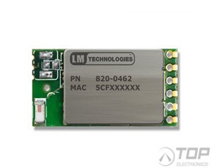 LM820-0462, WiFi SMT 5V Module, 150Mbps, with Onboard Antenna