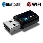 LM842-8420, WiFi 802.11ac / Bluetooth® 5.0 2T2R USB Combi Adapter with internal antennae