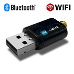 LM842-8426 US, WiFi 802.11ac / Bluetooth® 5.0 2T2R USB Combi Adapter with SMA antenna connector