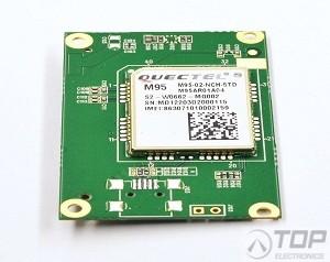 Quectel M95FA-TE-A GSM/GPRS adapter board including M95FA module