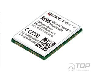Quectel M95A, Quad-Band GSM/GPRS SMT Module, TCP/IP