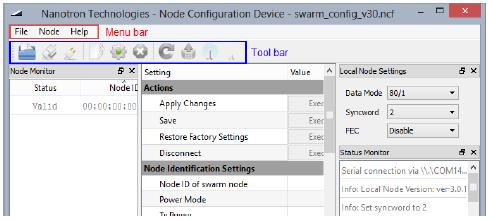 nanotron SN03SWAT, swarm Node Configuration Device