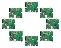 nanotron KNRINT01, RTLS Integration Kit, 8 nanoANQ boards V2