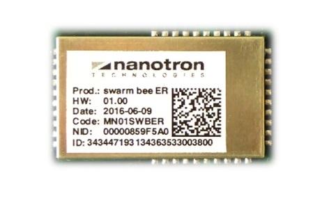 nanotron MN01SWBER, swarm bee ER module